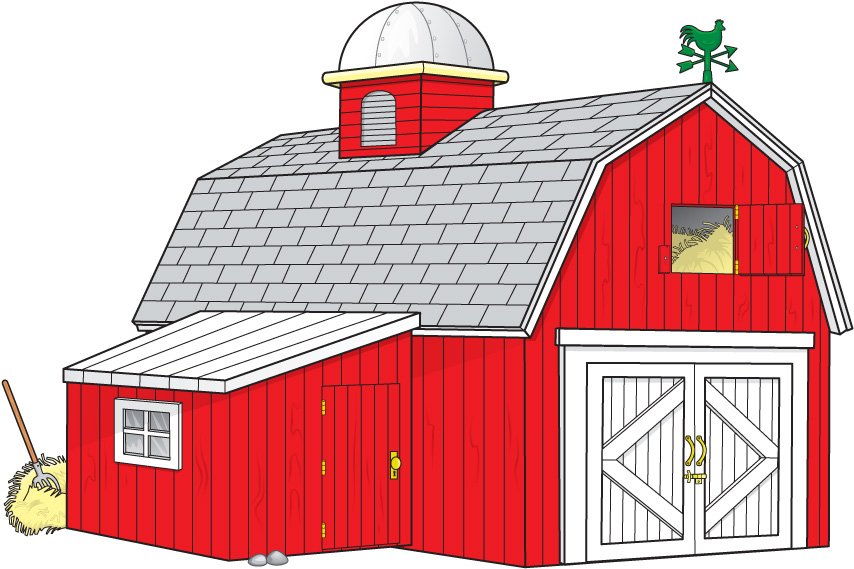 854x569 Farm Houses Small Farm House Cartoon Farm House Farm House Clip