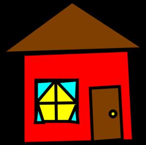 298x297 Free Clip Art House