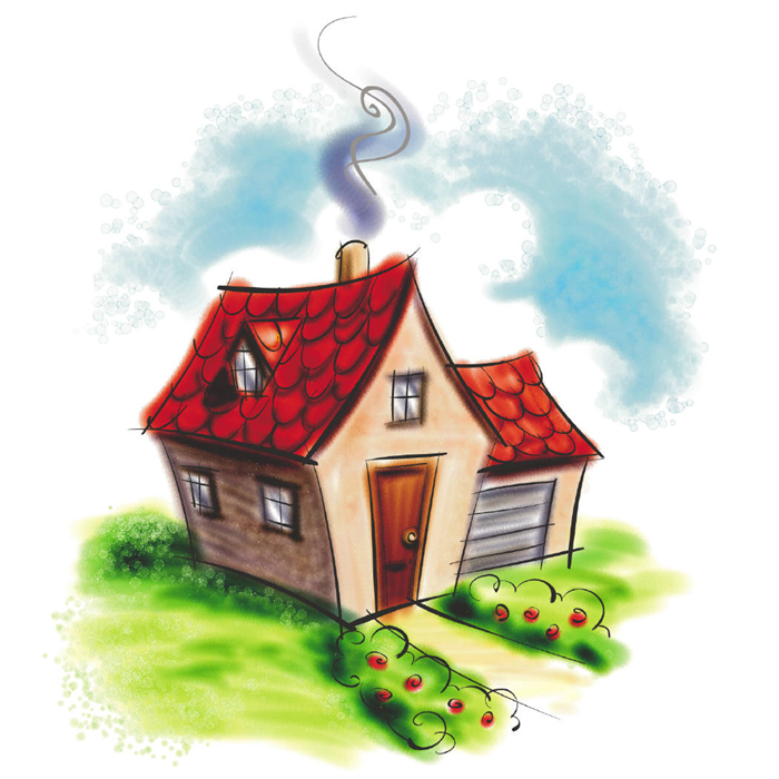 700x700 Free Cute House Clipart Image