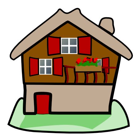 437x437 Free To Use Amp Public Domain Houses Clip Art