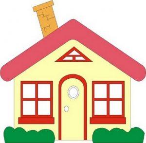 300x294 Lofty Clip Art Houses Simple House Clipart Panda Free Images