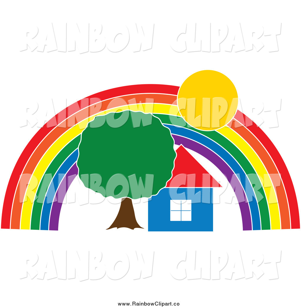 1024x1044 Royalty Free Stock Rainbow Designs Of Houses
