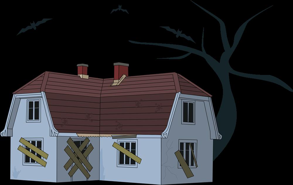 1000x632 Top 84 Haunted House Clip Art