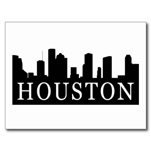 512x512 Houston Skyline Post Cards Tattoos Houston Skyline