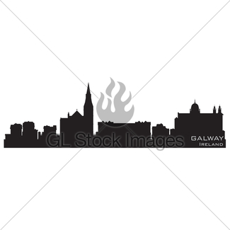 325x325 Austin, Texas Skyline. Detailed Vector Silhouette Gl Stock Images