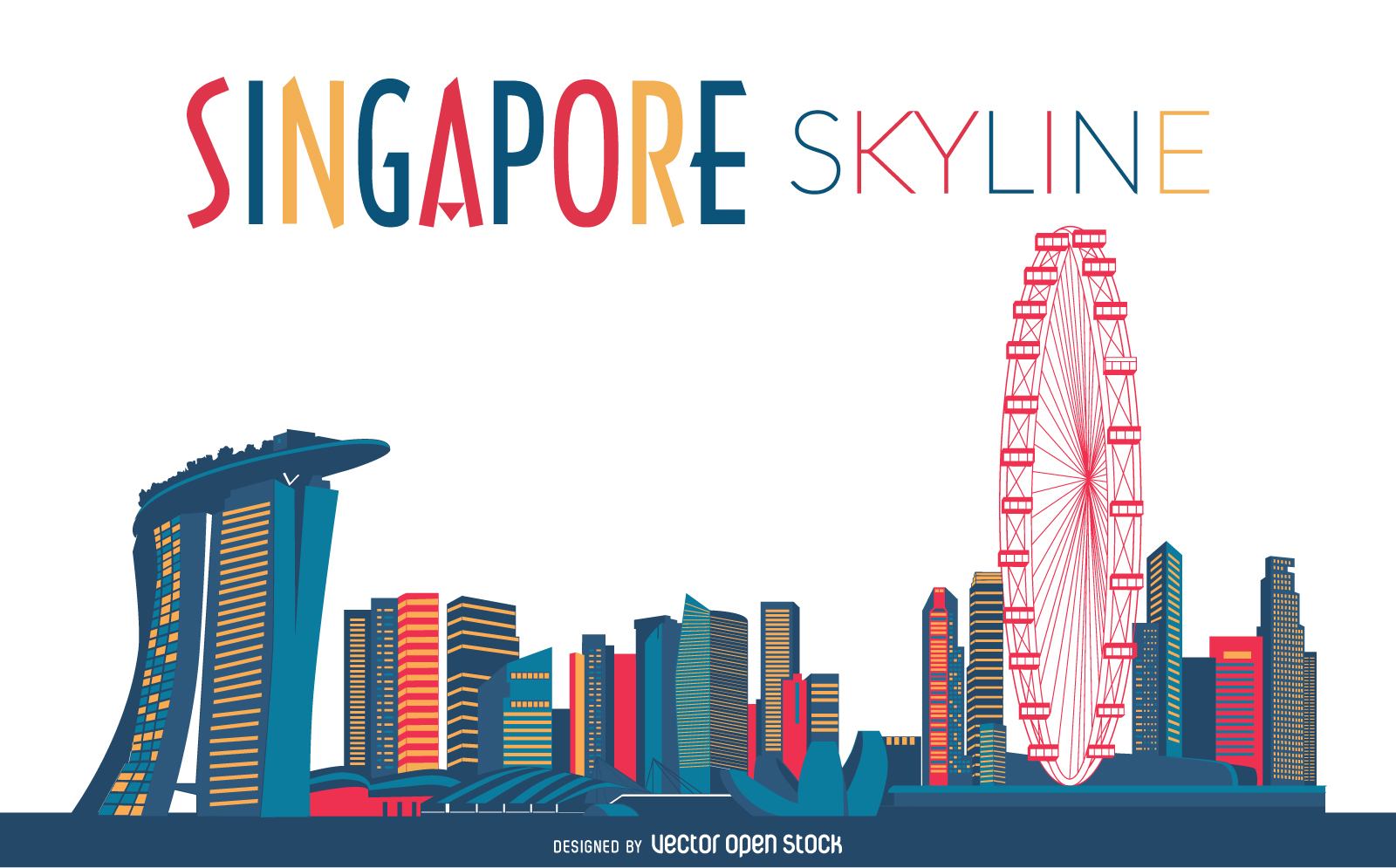 1600x995 Skyline Vector Graphics City Skylines) Free Download