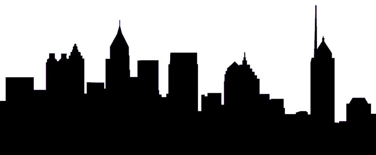 1216x504 Skyline clipart cityscape