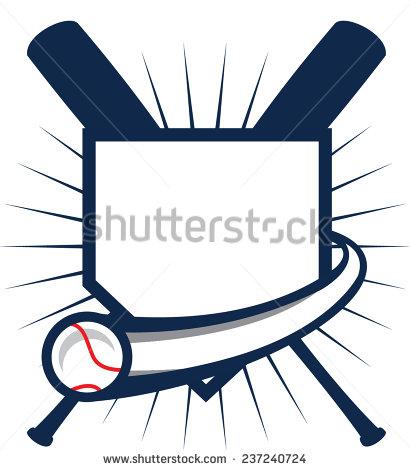 410x470 Logo Clipart Baseball