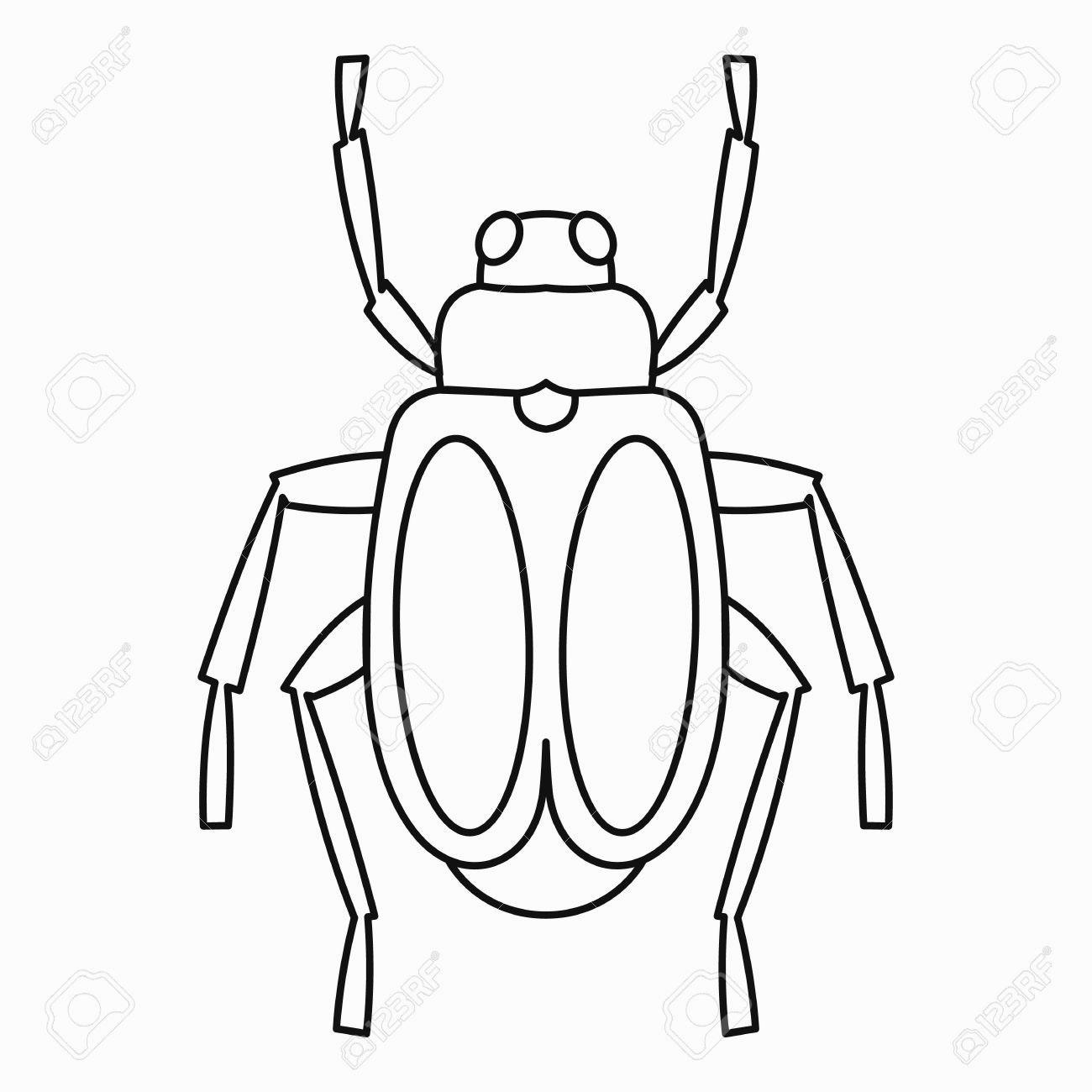 1300x1300 Bug Clipart Outline