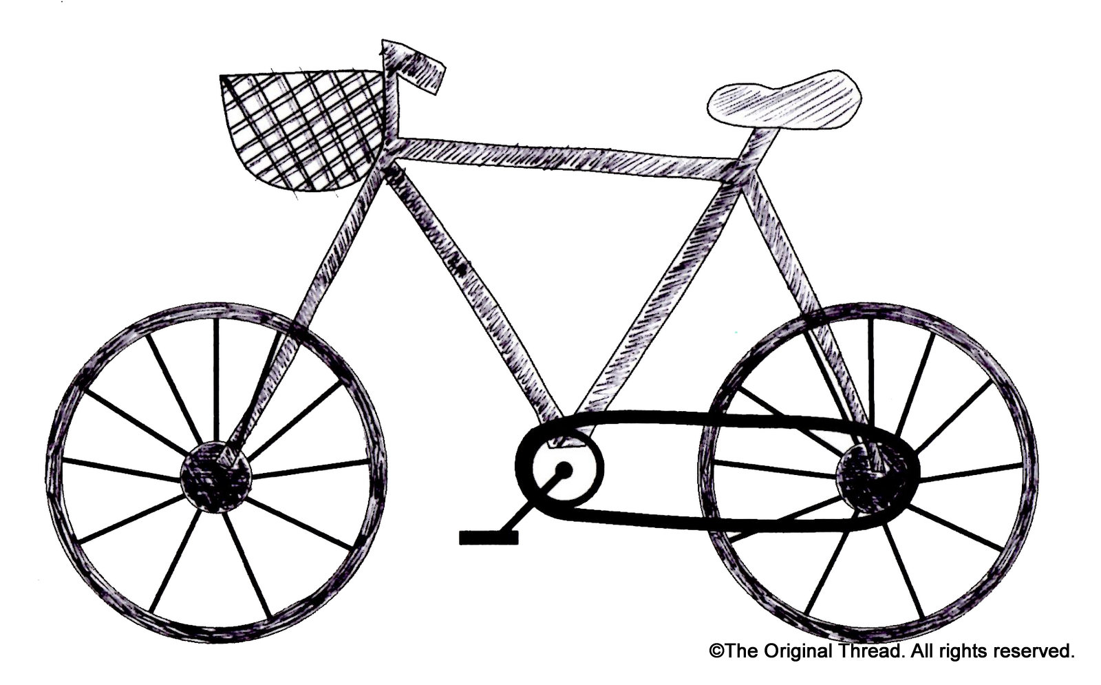 How To Draw A Bike For Kids Free Download Best How To Draw A Bike