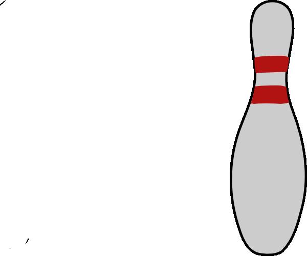 600x500 Bowling Pin 3 Clip Art