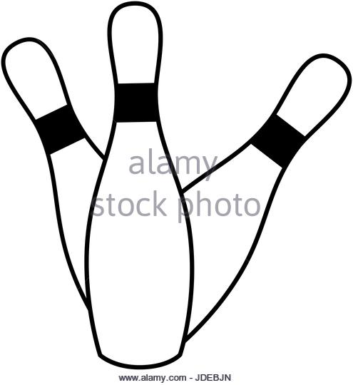 495x540 Bowling Pins Set Stock Photos Amp Bowling Pins Set Stock Images