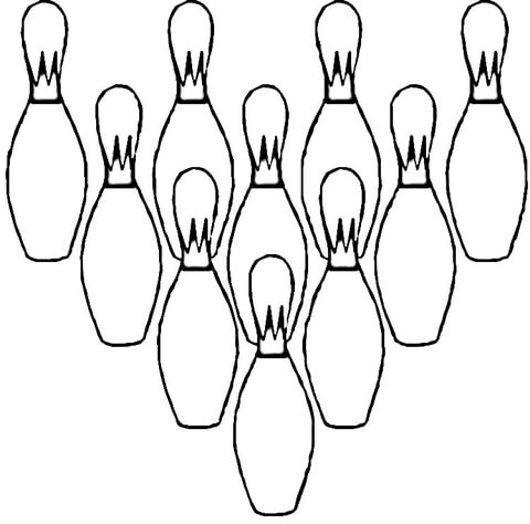 480x474 Ten Pins Coloring Page Free Printable Coloring Pages