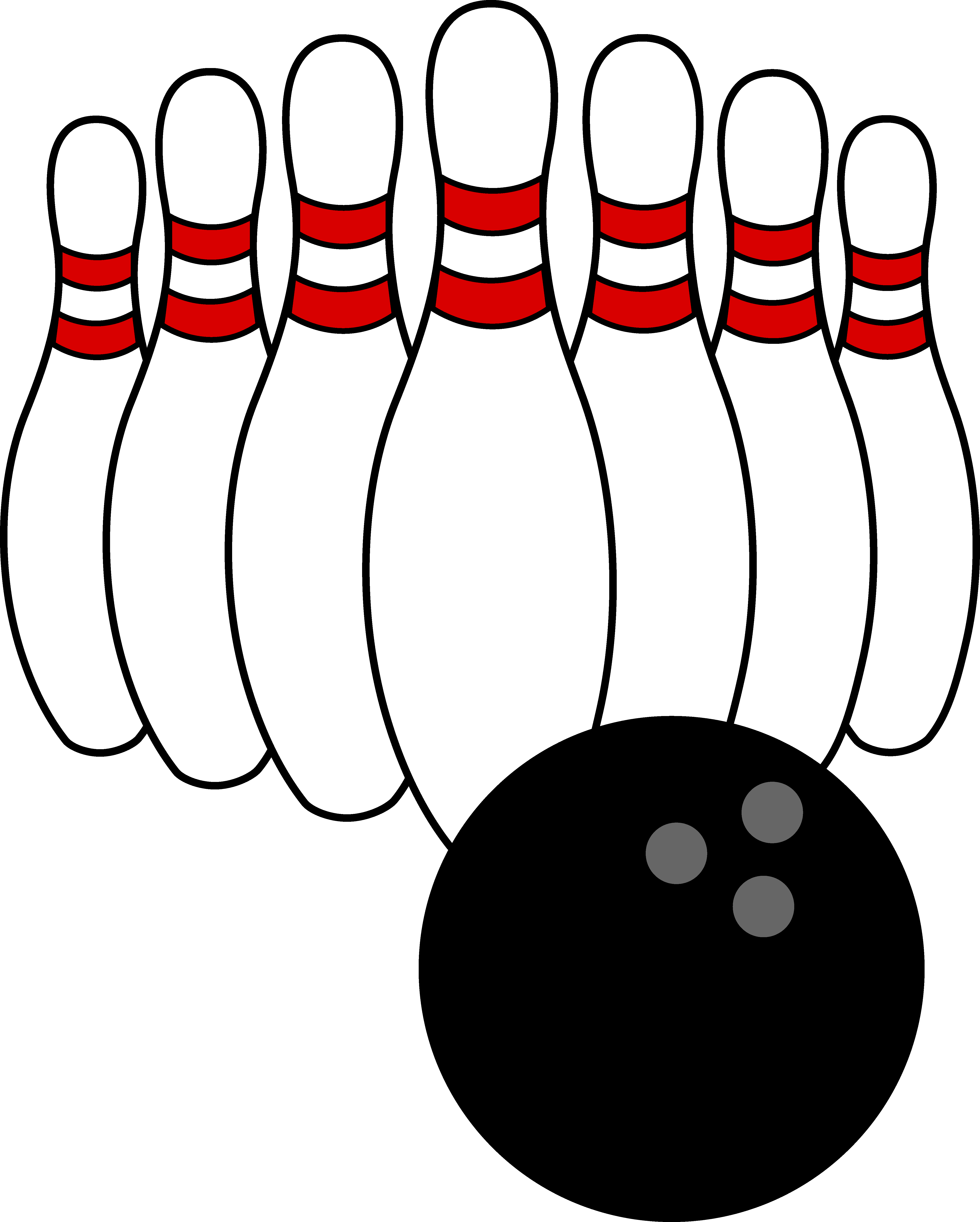 4969x6195 Bowling Ball And Pins