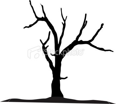 380x342 Dead Tree Clipart