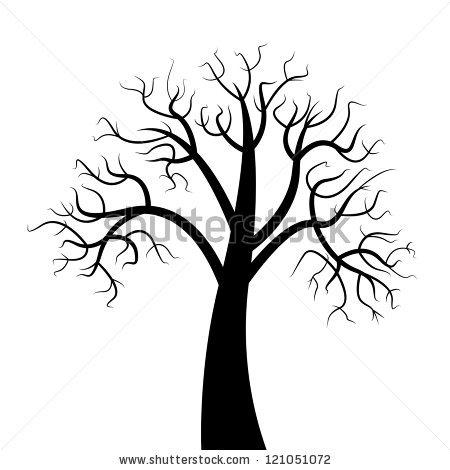 450x470 Drawn Dead Tree Dry Tree