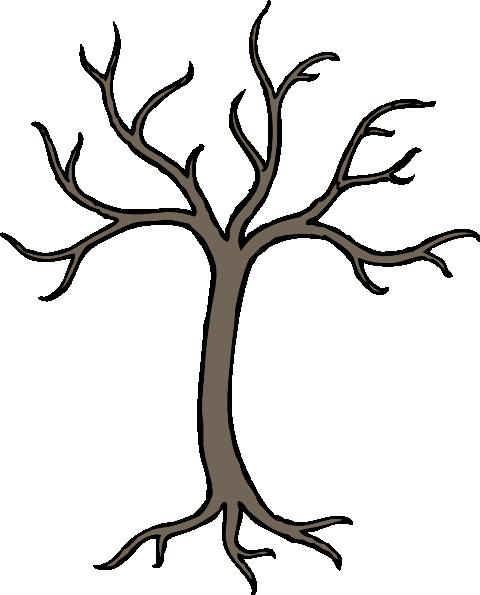 480x595 Bare Dead Tree Clip Art