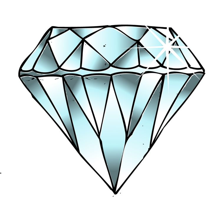 How To Draw A Diamond | Free download best How To Draw A ...