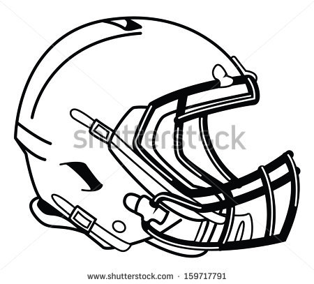 450x407 Football Helmet Front Drawing Clipart Panda
