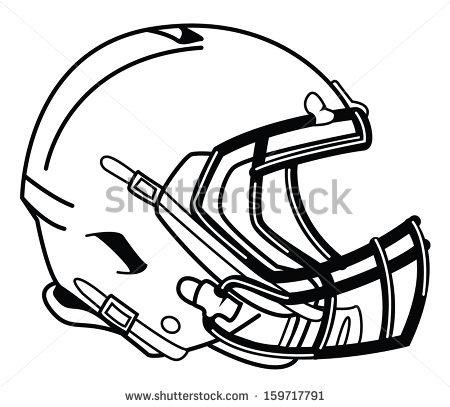 450x407 Football Helmet Front Drawing Clipart Panda