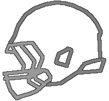 385x355 Revo Speed Football Helmet Drawing Clipart Panda