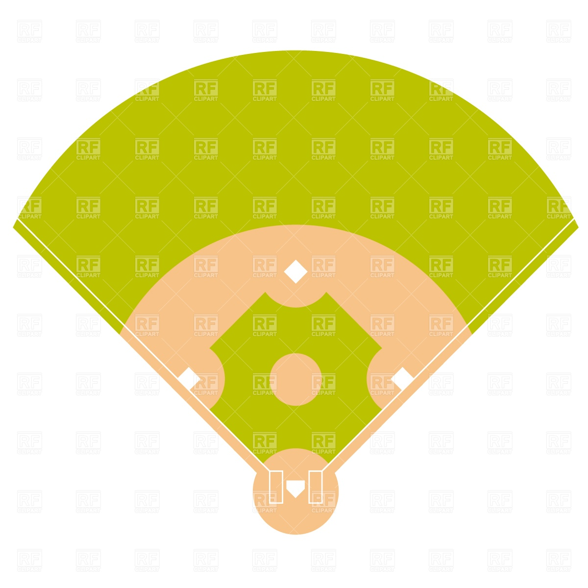 1200x1200 Baseball Diamond Drawing Collection