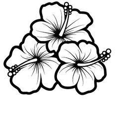 236x265 Easy To Draw Hawaiian Flowers
