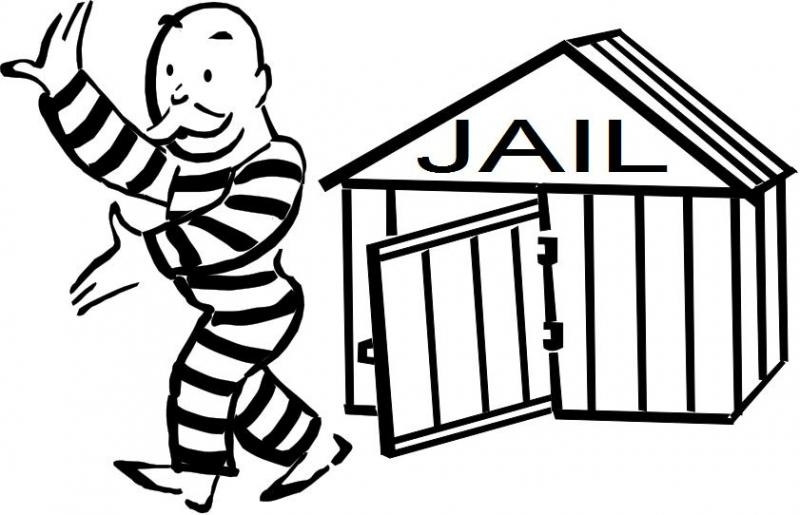 800x515 Free From Jail Clipart