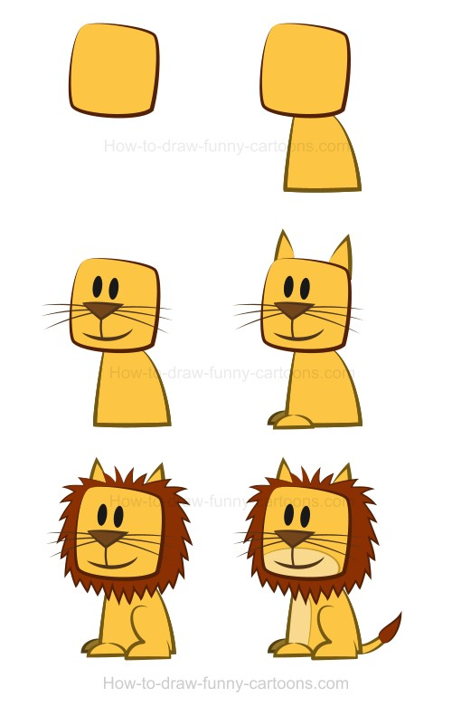 500x791 Drawing A Lion Is Now An Easy Exercise Using This Simple Tutorial