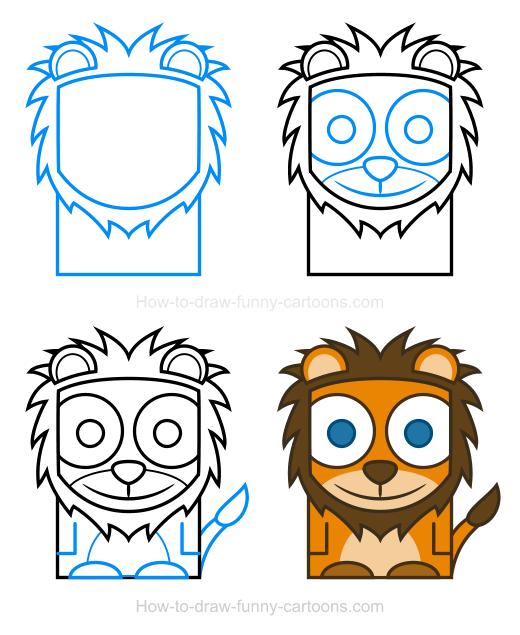520x635 Lion Clipart