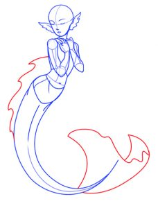 228x300 Coloring Pages How To Draw A Mermaid Hqdefault Coloring Pages