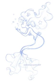 How To Draw A Mermaid Tail Free Download Best How To Draw A