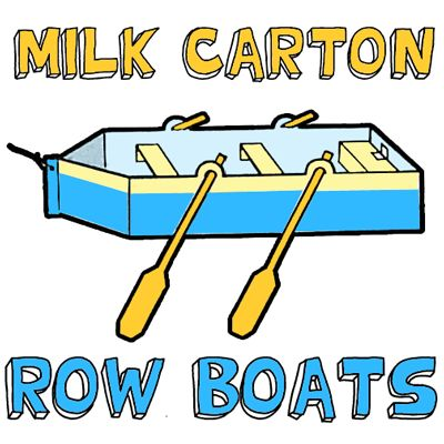400x400 How To Make A Milk Carton Row Boat Box And Container Crafts