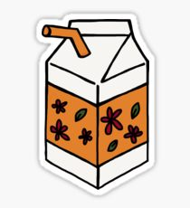 210x230 Milk Carton Drawing Stickers Redbubble