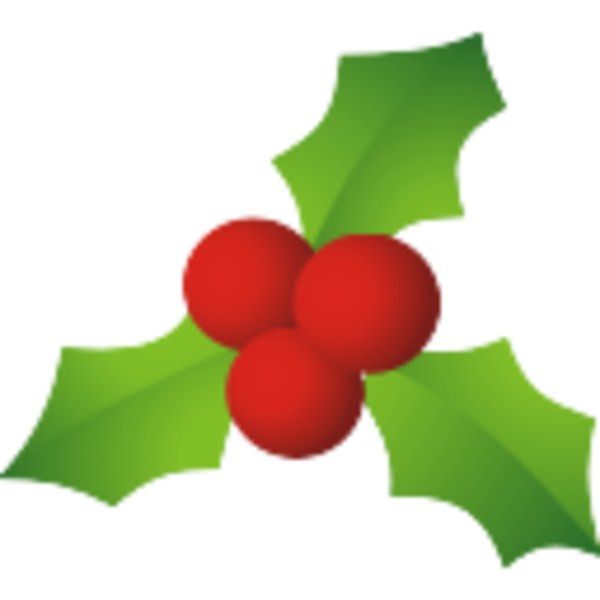 600x600 Christmas Mistletoe Free Images