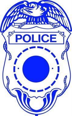 236x381 Police Badge Free Cut File Cricut Svg Badges