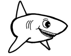 235x184 How To Draw A Shark Just In Time For Shark Week Shark Week