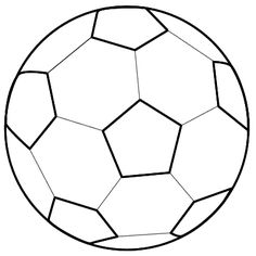 236x236 Draw A Soccer Ball Soccer Ball, Shapes And Volleyball