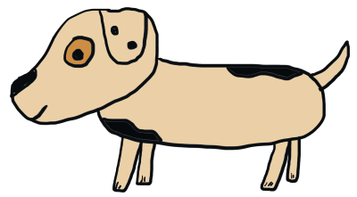 400x221 How To Draw A Stick Dog