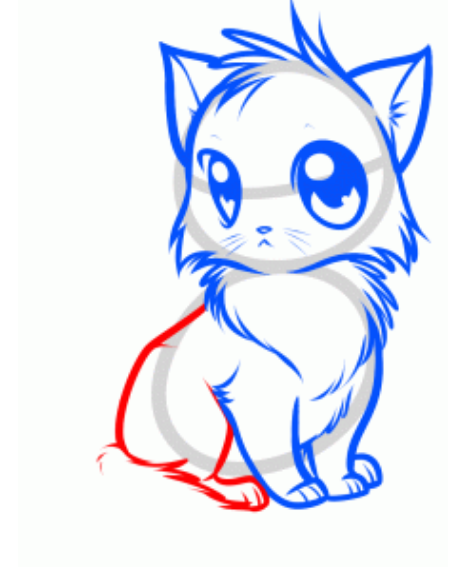 How to draw an anime cat free download best how to draw an anime 471x575 how to draw anime stylish cat drawing tutorial altavistaventures Image collections