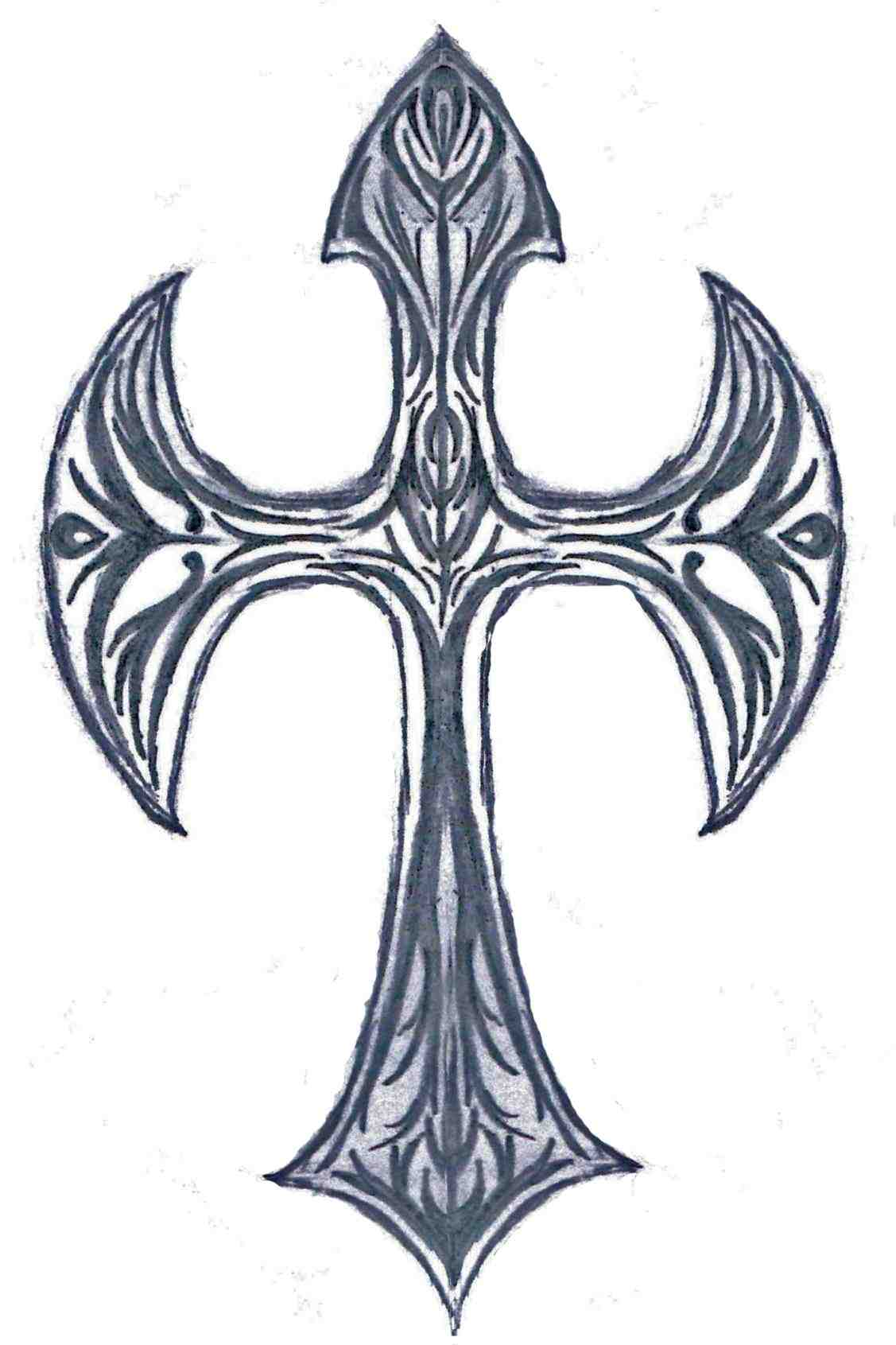 How To Draw Cool Crosses Free Download On Clipartmag