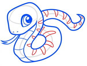 302x231 Best 25+ How to draw snakes ideas Snake sketch