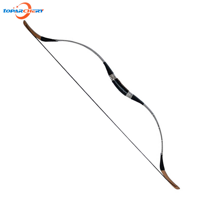 800x800 40lbs 45lbs 50lbs Traditional Snakeskin Recurve Bow Hunting