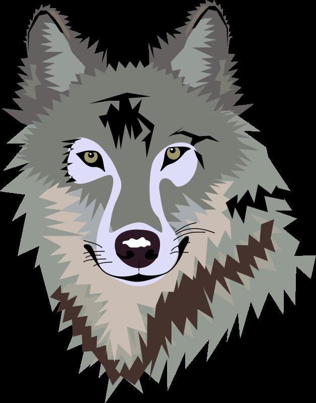 628x800 Top 93 Gray Wolf Clip Art