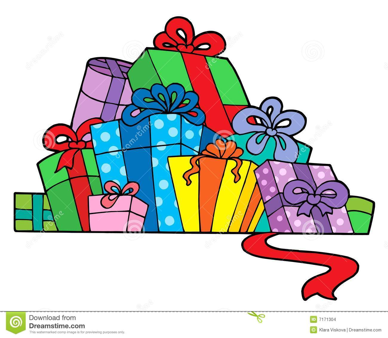 1300x1134 Pile Of Birthday Presents Clipart Pile Various Gifts