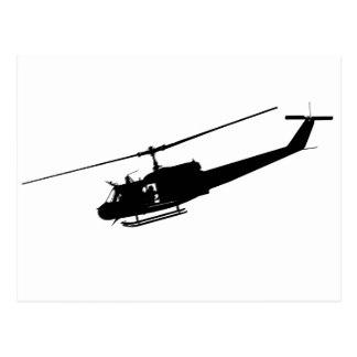 324x324 Vietnam Helicopter Postcards Zazzle
