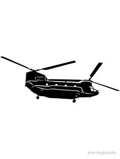 236x314 Huey Helicopter Silhouette