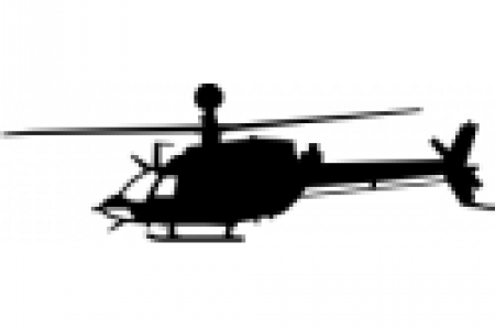 450x300 Bell Helicopter Silhouette Clip Art
