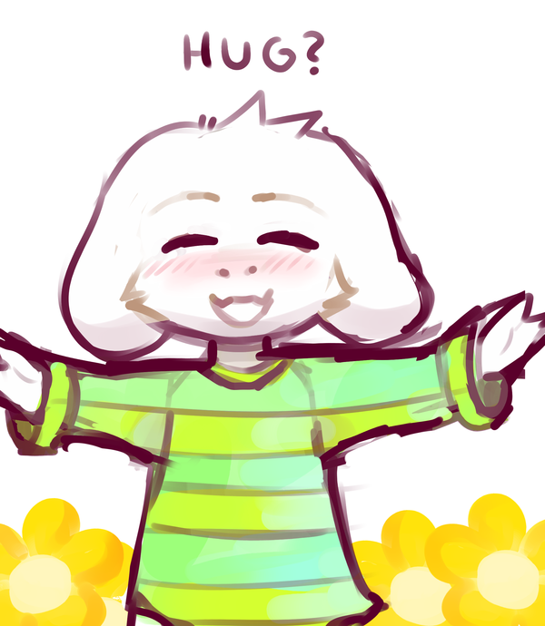 600x690 Free Hugs! Undertale Know Your Meme