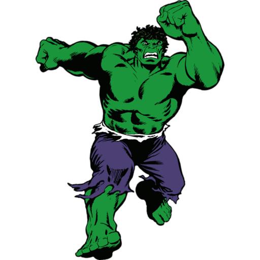 512x512 Best Hulk Clip Art